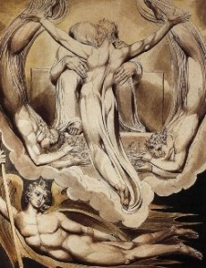 Christ as the Redeemer of Man by William Blake