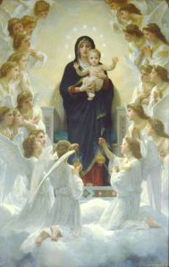 Bouguereau - The Virgin With Angels