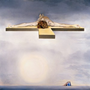 "Salvador Dali ""Crucifixion - Christ of Gala"""