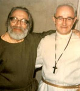 Murshid Samuel Lewis and Father Paul Blighton