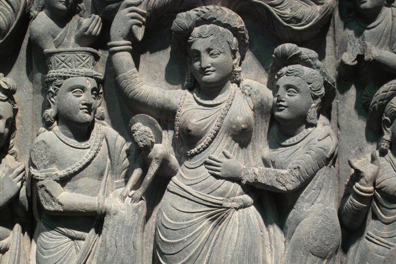 a history of the birth of the first buddha The life of the buddha introduction  he endured the first sixteen years of his life in an iron cage  as the time of the child's birth drew near,.