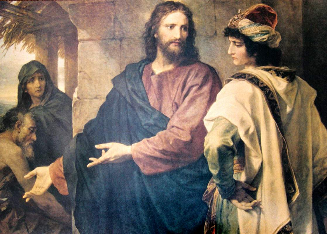 """jesus and the rich young ruler When the rich young ruler asks jesus """"what must i do to inherit eternal life"""", today's protestant might simply answer, """"have faith"""" that's not what jesus said, however."""