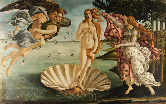 The Birth of Venus, by Botticelli