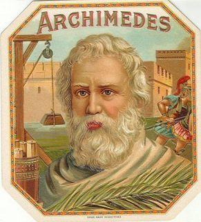 161121938_archimedes---outer-cigar-label-antique-lithograph---